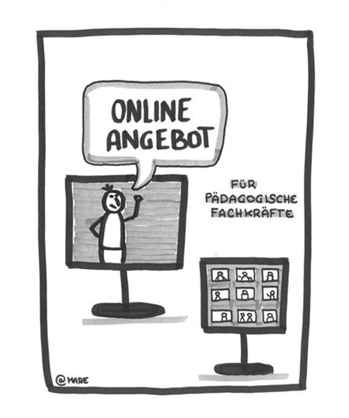Onlineangebot für pädagogische Fachkräfte